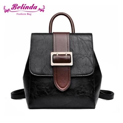 【Belinda】拉蒂納二用後背包(黑色)