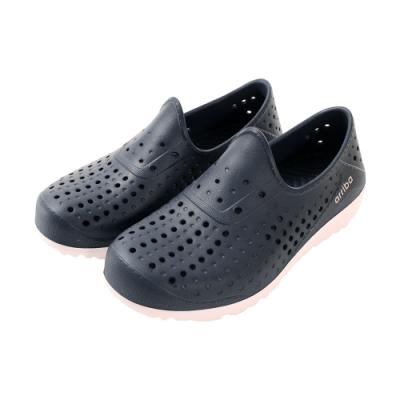 中大女童鞋 超輕量休閒晴雨洞洞鞋sd7225 魔法Baby
