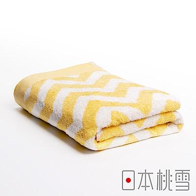 日本桃雪 今治北歐浴巾(曙光黃)