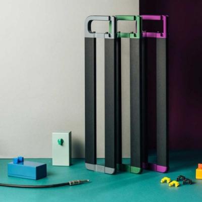 ENDAW Pebble-5 效果器盤 銀/紫/綠色手把版