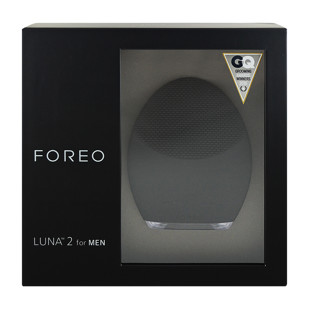 Foreo Luna 2 淨透舒緩潔面儀-男性專用 (午夜黑)