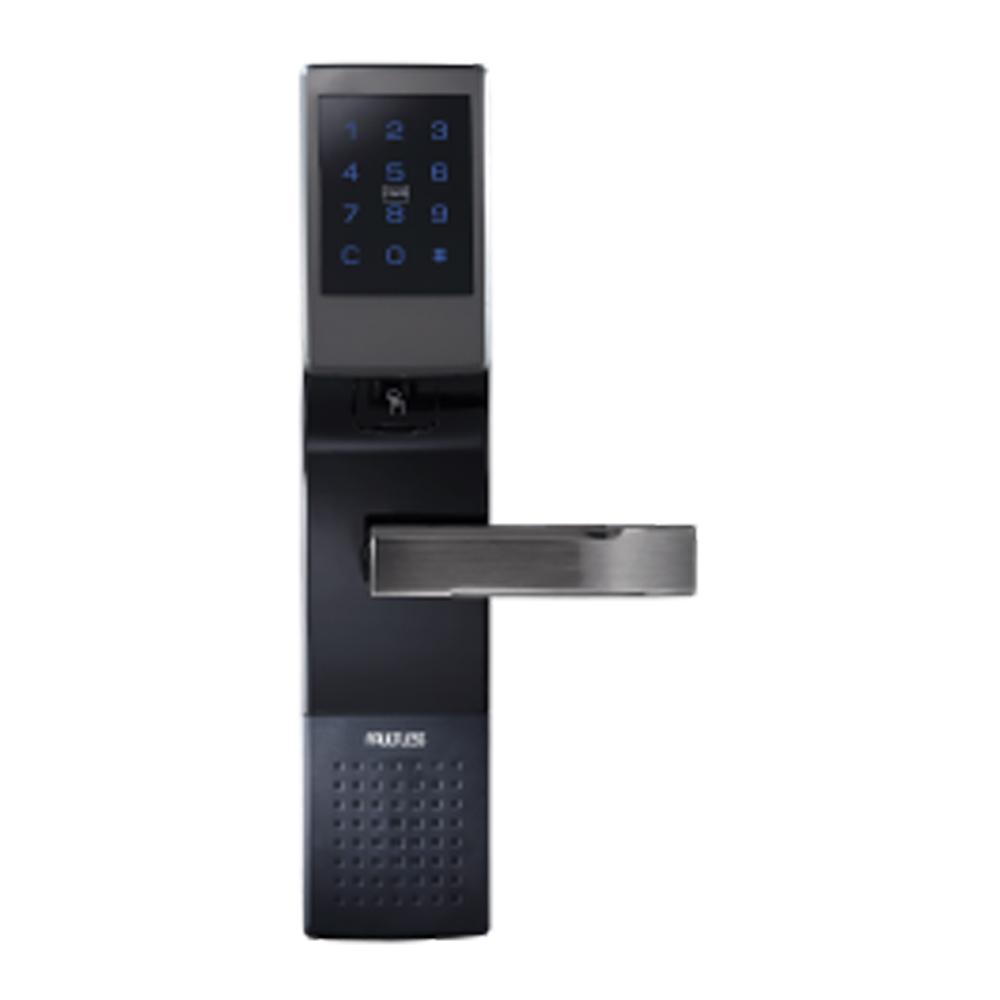 TM704PCF 加安 四合一電子鎖 密碼、錀匙、感應卡、指紋 (不含安裝)