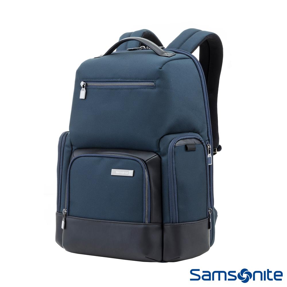 Samsonite新秀麗 Sefton商務智慧型筆電後背包14 (海軍藍)