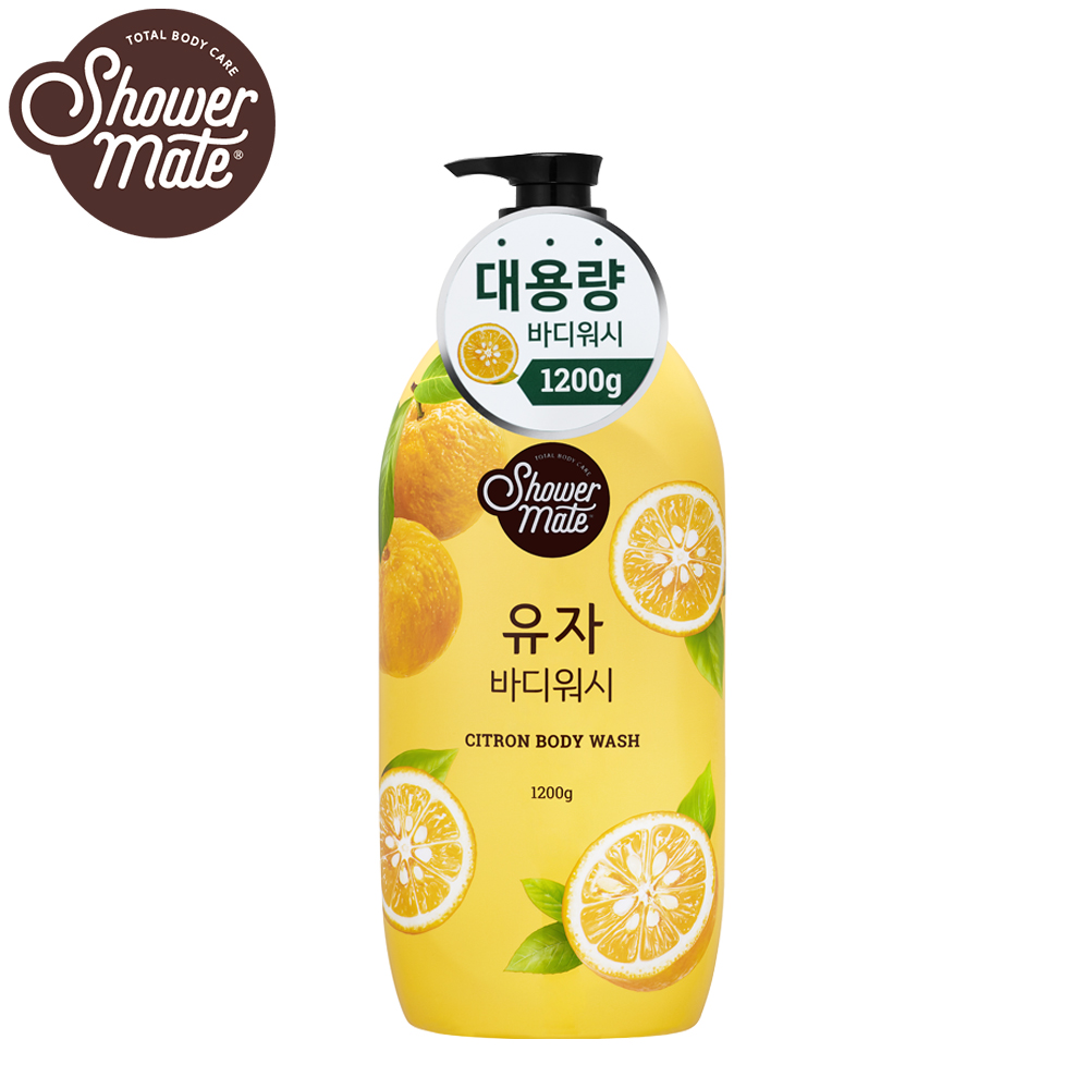 Shower Mate微風如沐 果香沐浴乳-甜香柚(1200g)