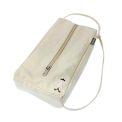 日本YAC 刺繡帆布面紙盒套(PF-327)-急速配