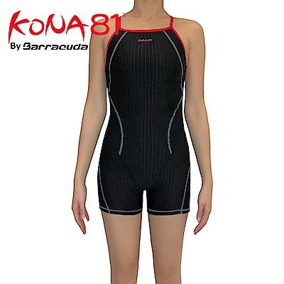 酷吶81 細肩帶挖背抗UV四角連身泳裝 KONA81 TRAINING02