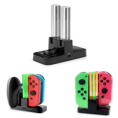 【Nintendo 任天堂】Switch Joy-Con PRO 雙握把充電座