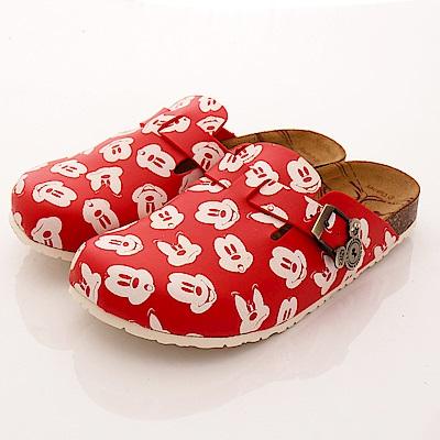 迪士尼童鞋米奇勃肯涼鞋款FO53931紅大童親子段