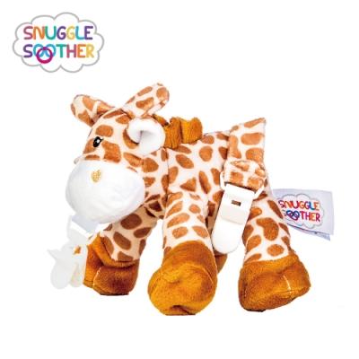 【Snuggle史納哥】安撫絨毛玩偶娃娃奶嘴夾-長頸鹿