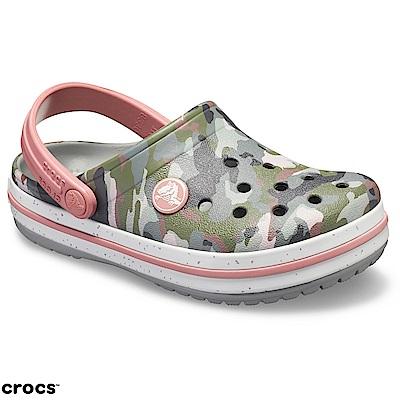 Crocs 卡駱馳 (童鞋) 卡駱班迷彩小克駱格 205301-97A