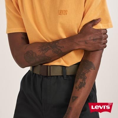 Levis 男款 皮帶 街潮釦環設計