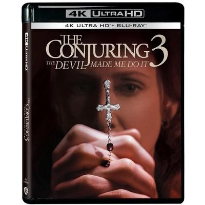 厲陰宅3:是惡魔逼我的 4K UHD+BD 雙碟限定版