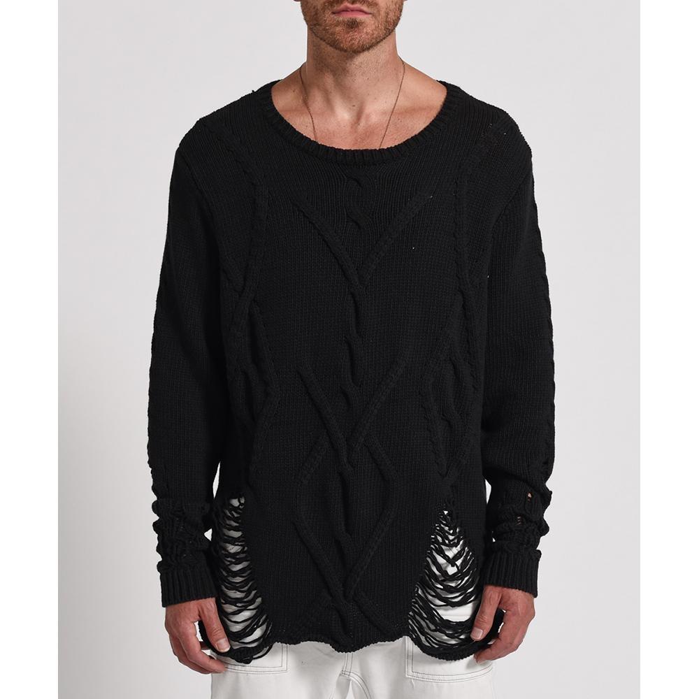 ONETEASPOON 設計款針織上衣 -男