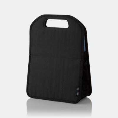ELECOM 直立式手提袋中袋M-黑