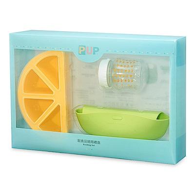奇哥 PUP  副食品哺育禮盒-檸檬(4-7M)