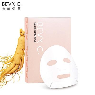 BEVY C. 水潤肌保濕人參水導膜3片/盒(胺基酸補水)