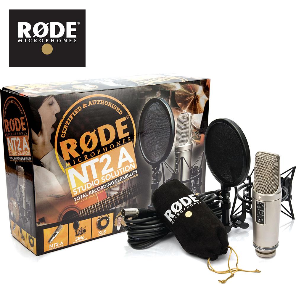 RODE NT2A 電容式麥克風套裝組