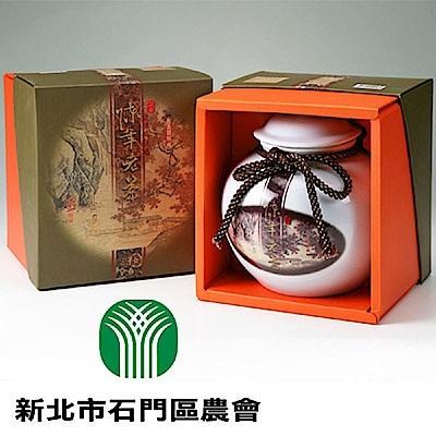 石門‧陳年老茶-陶瓷罐裝(600g/罐),共一盒