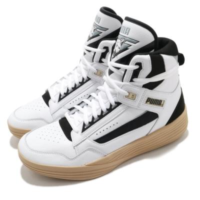Puma 籃球鞋 Clyde All-Pro Kuzma 男鞋 高筒 避震 包覆 支撐 運動 球鞋 白 黑 19483601