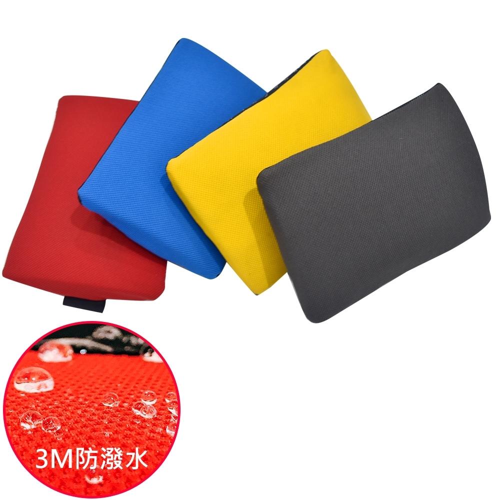 凱堡 3M防潑水方腰枕/舒壓靠墊/靠枕