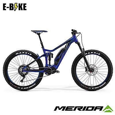 《MERIDA》美利達 eONE-SIXTY 800 電動輔助自行車 藍黑 2019