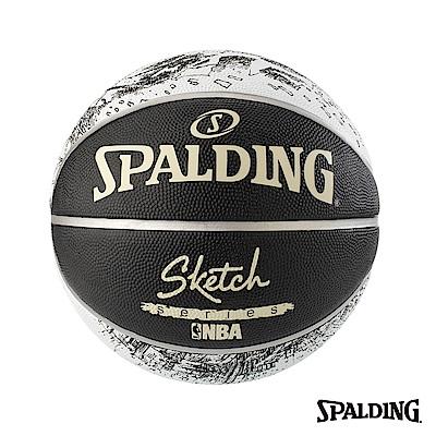 SPALDING 斯伯丁 街頭素描 籃球 7號