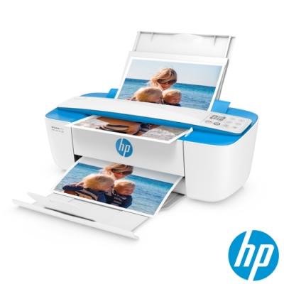 HP DeskJet 3720 All-in-One 無線噴墨複合機(藍)