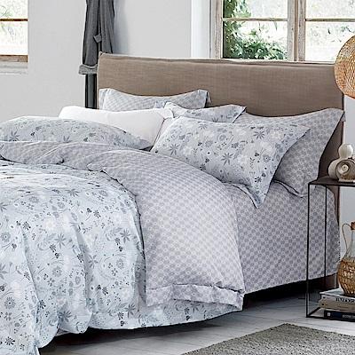 Ania Casa 花怒 原廠天絲 採用3M吸溼排汗專利 加大鋪棉兩用被床包組