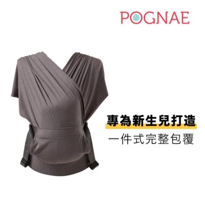 POGNAE Step One 包覆式新生兒揹巾-秘境灰