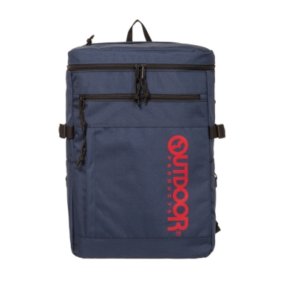 【OUTDOOR】風格前線-15.6吋筆電後背包-深藍色 OD101110NY