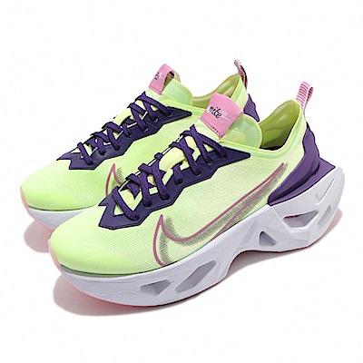 Nike 休閒鞋 ZoomX Vista Grind 女鞋 舒適 增高 氣墊 綠 紅 CT8919700