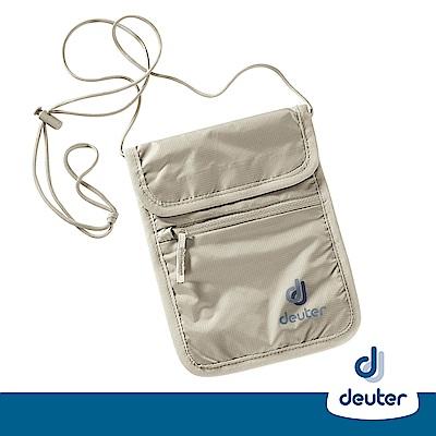 【德國DEUTER】隱藏式掛頸錢包/出國旅遊防竊包/隨身包3942116卡其