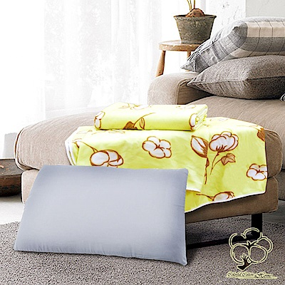 采棉居寢飾文化館 竹炭枕、柔棉四季毯超值組