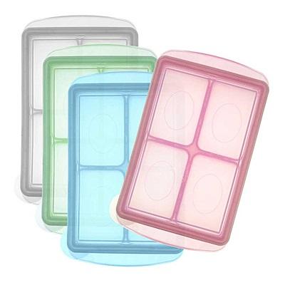 【麗嬰房】韓國 JM Green 新鮮凍副食品冷凍儲存分裝盒XL (150g) /單入裝 (顏色隨機