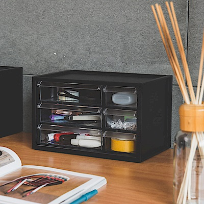 (買一送一)完美主義 零件分類箱/辦公收納/六抽