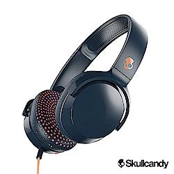 Skullcandy Riff 耳罩式有線耳機-深藍棕色(公司貨)