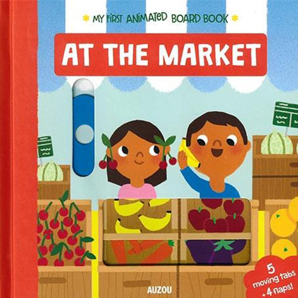 My First Animated Board Book:At The Market