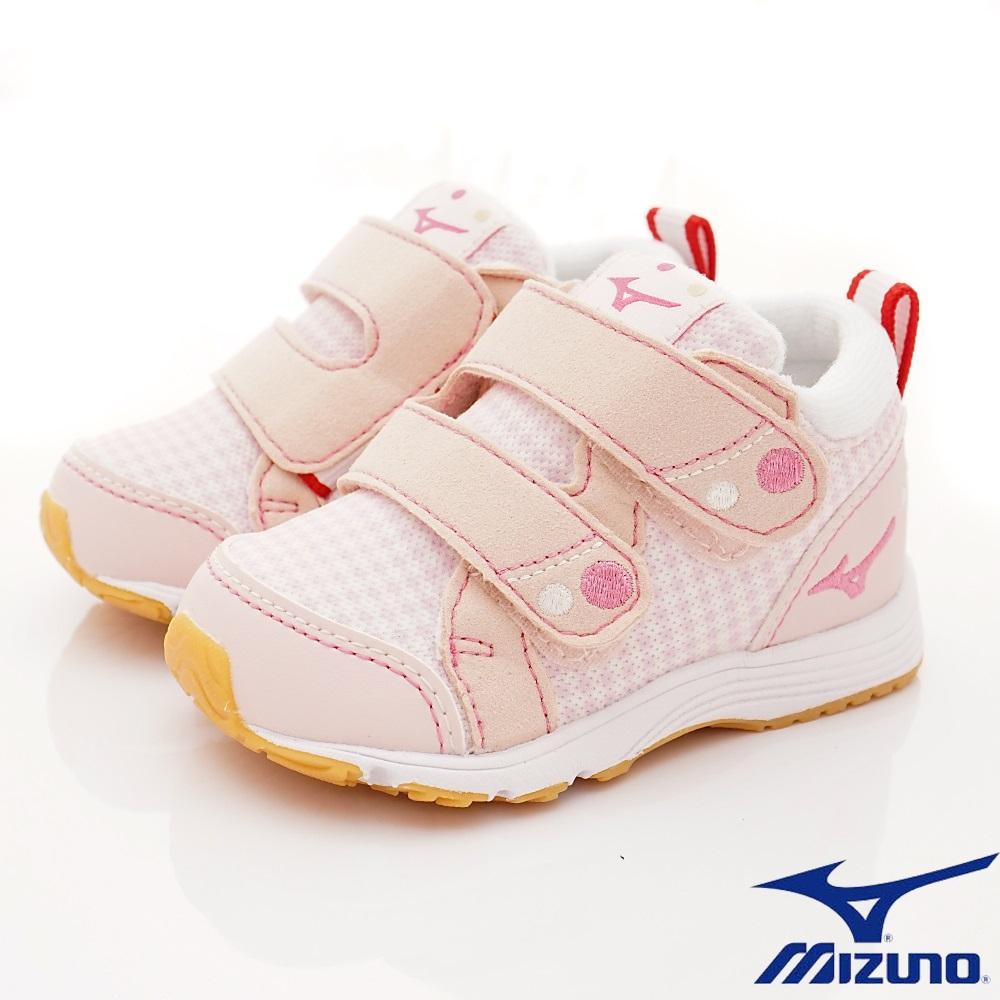 MIZUNO童鞋 護踝機能學步鞋款 ON83160粉(寶寶段)