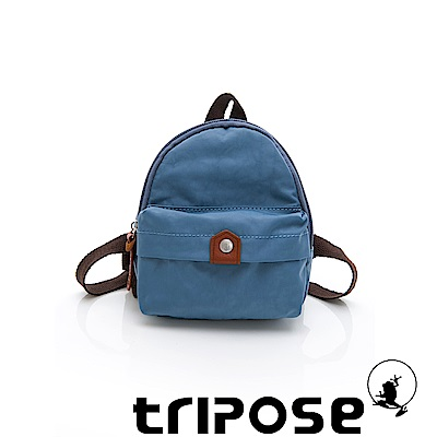tripose MEMENTO系列尼龍輕量防潑水寵物背包-水藍