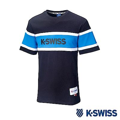 K-SWISS Ace Graphic Tee印花短袖T恤-男-黑