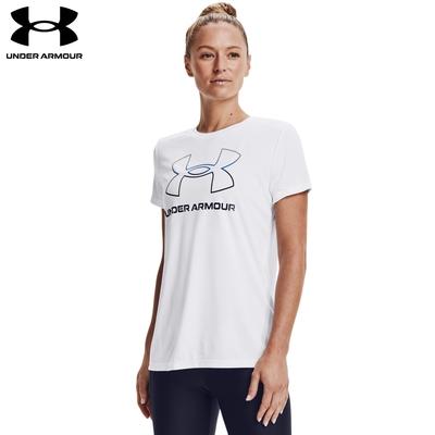 【UNDER ARMOUR】女 Velocity 短T-Shirt