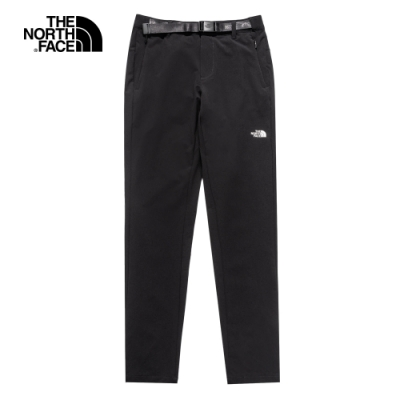 The North Face北面女款黑色防潑水戶外徒步褲|4UBDJK3