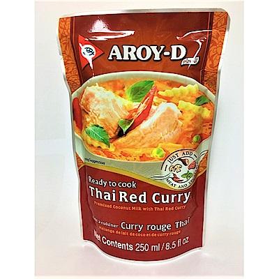 AROY-D 泰國即食紅咖哩醬(250ml/包)