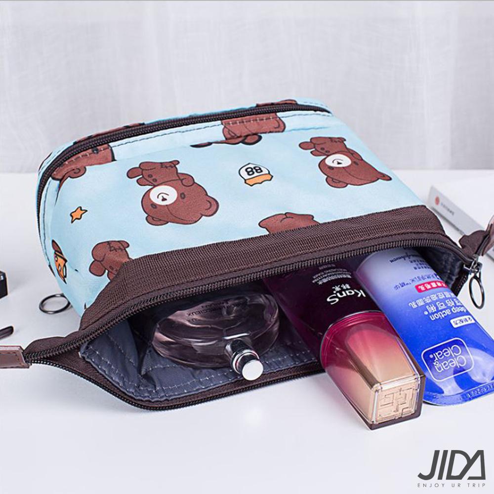 【暢貨出清】JIDA 第三代多功能防潑水大容量化妝包/收納包(5款)