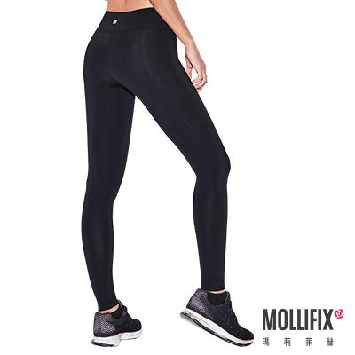 Mollifix 瑪莉菲絲 彈力修身動塑褲 (黑)