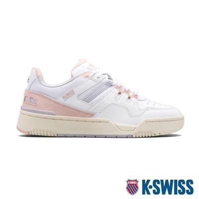 K-SWISS Match Rival 時尚運動鞋-女-白/乾燥玫瑰粉