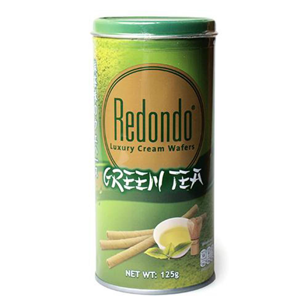 瑞登 捲心酥系列-綠茶口味(350g)