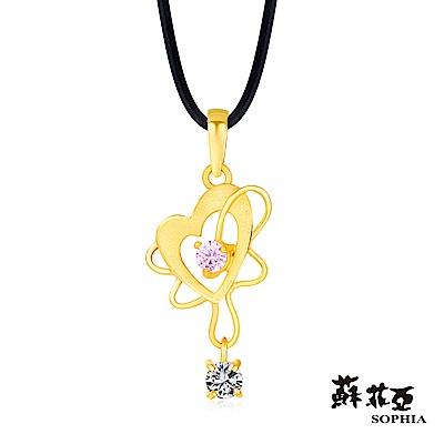 蘇菲亞SOPHIA - G LOVER系列心的跳動黃金項鍊