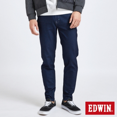 EDWIN JERSEYS 迦績 MED系列 不對稱AB牛仔褲-男-原藍色