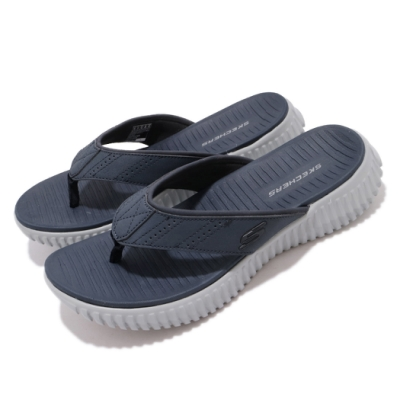 Skechers 涼拖鞋 Elite Flex-Bluwik 男鞋